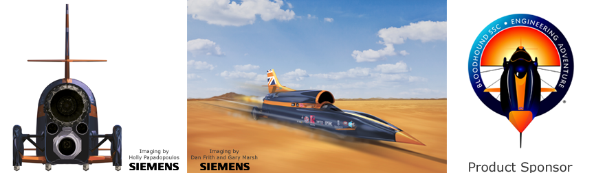 Bloodhound SSC visuals and logo